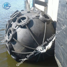Natural Rubber Pneumatic Marine Fender Durable 0.05MPa And 0.08MPa For Pier And Vessels